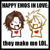 Happy Emos in Love by kurenzaa