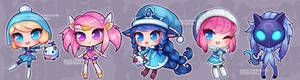 League of Legends Chibi Acrylic Charms 01