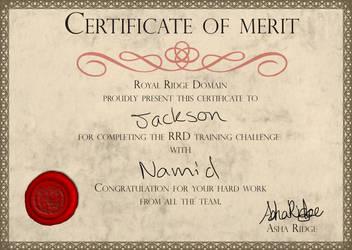 RRD Training Challenge - Jack by kassousminou