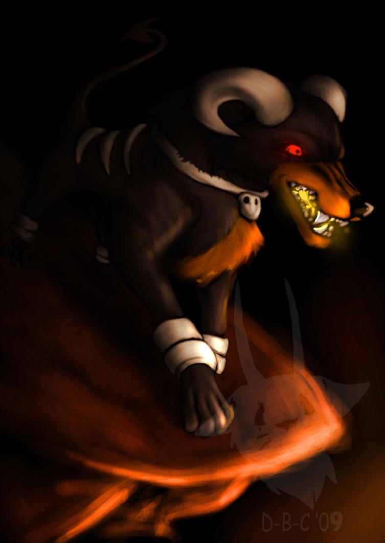 Houndoom you do by DEATH-BY-CHEESE