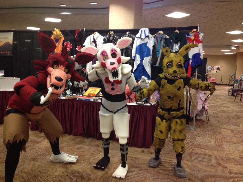 fnaf group cosplay by lawlicat on deviantart