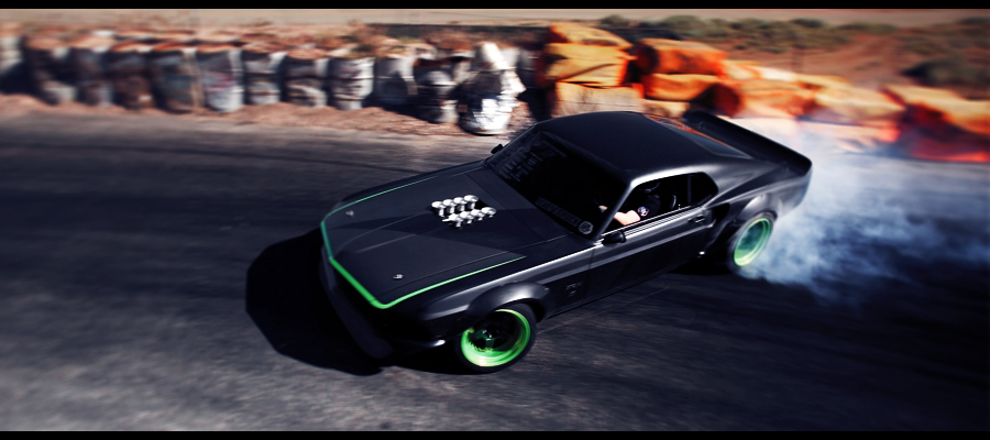Ford Mustang Ready To Rock by ecKKKo