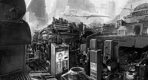 Junk City by alantsuei