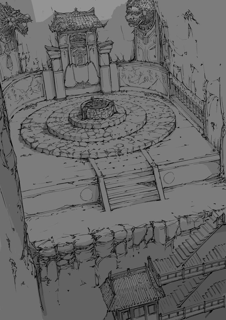 Env Design - Tunnel3 by alantsuei