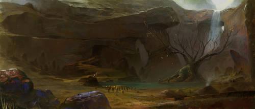 Druid Grove by alantsuei
