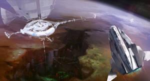 Terraforming space station by alantsuei