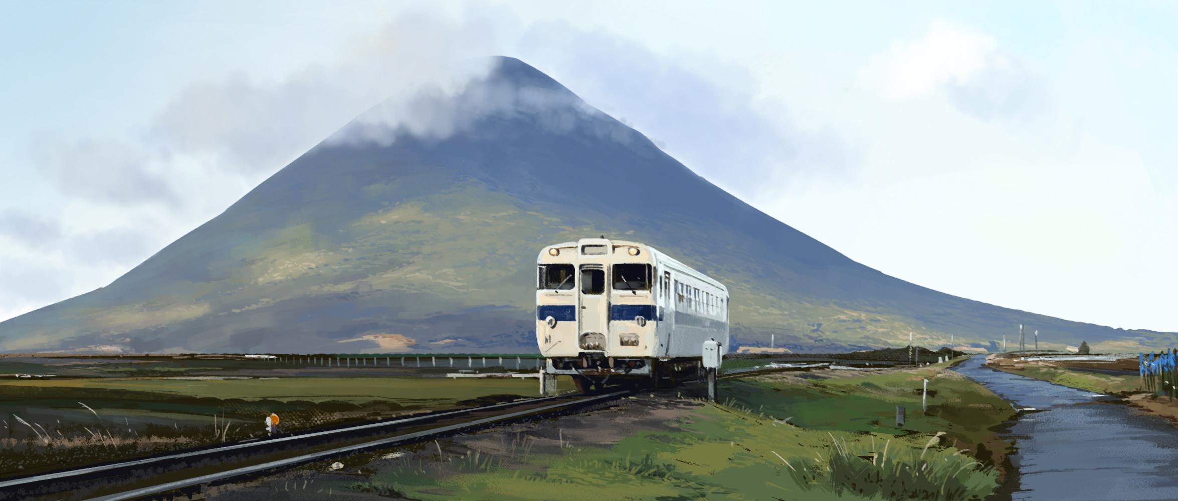Kaimondake volcano - Kyushu by alantsuei