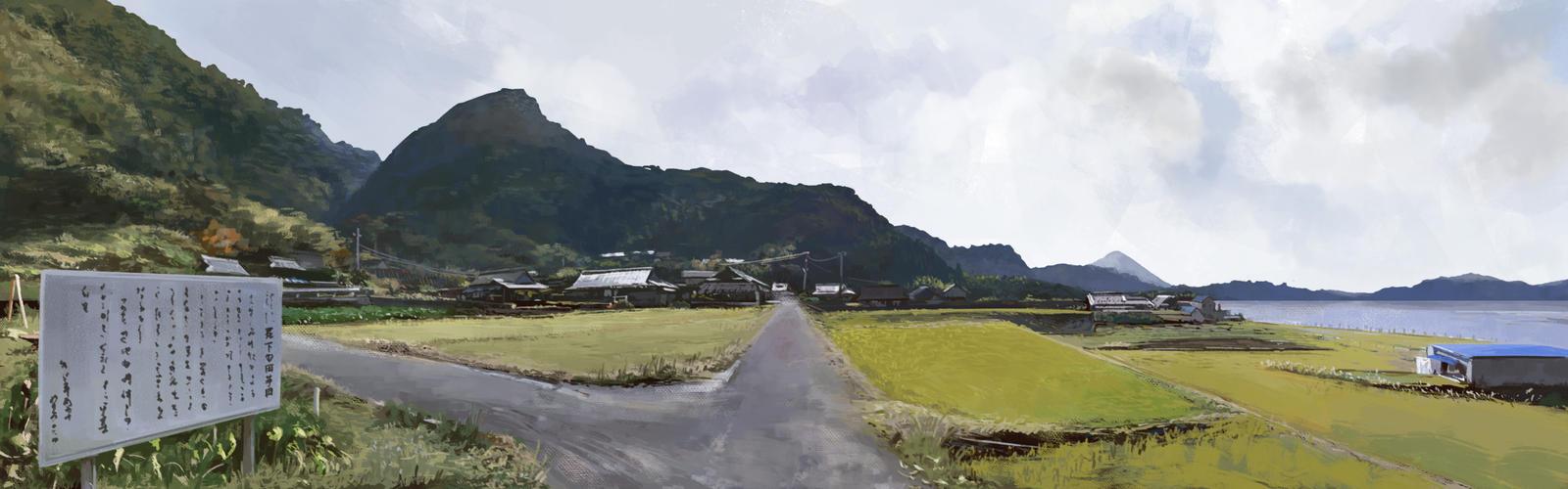 Lake Ikeda - Kyushu by alantsuei