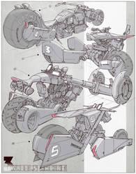 Design - Vehicle Design 005 by alantsuei