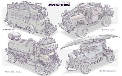 Design - Vehicle Design 006 by alantsuei