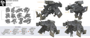 Design - Mecha 001 by alantsuei