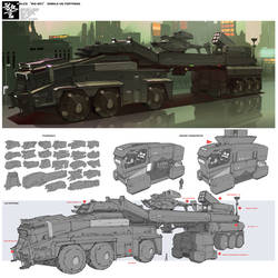 Design - Vehicle Design 008 by alantsuei