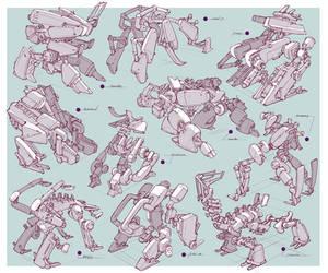 Design - Mecha 002 by alantsuei