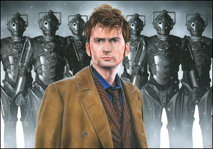 Doctor Who - Cybermen by caldwellart