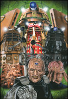 Doctor Who - The Daleks by caldwellart