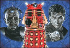 Doctor Who - Davros by caldwellart