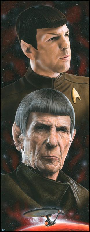 Star Trek - Spock by caldwellart