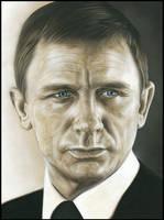 James Bond - daniel craig by caldwellart