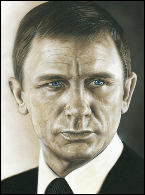 James Bond - daniel craig by caldwellart