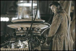 Doctor Who  - David Tennant by caldwellart