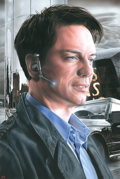 Torchwood - Captain jack by caldwellart
