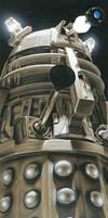 Doctor Who - Dalek Supreme by caldwellart