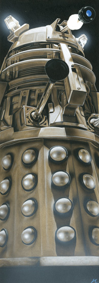 Doctor Who - Dalek Supreme by caldwellart