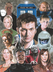 Doctor Who - Series 4 by caldwellart