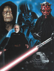 Star Wars - The Dark Side by caldwellart