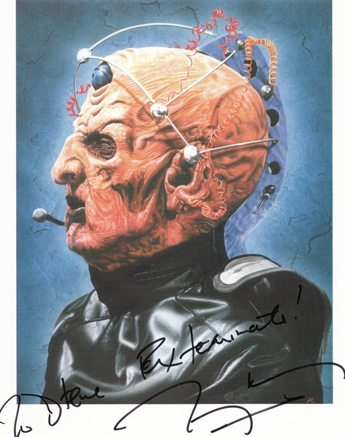 Doctor Who - The Creator by caldwellart
