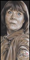 Doctor Who - Sarah Jane Smith by caldwellart