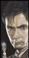Doctor Who  -  The Doctor by caldwellart