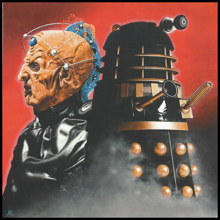 Doctor Who - Davros - Daleks by caldwellart