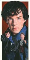 A Study In Sherlock by caldwellart