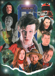 Doctor Who - Series Five by caldwellart