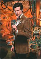 Matt Smith - Doctor Who by caldwellart