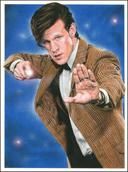 Doctor Who 2011 by caldwellart