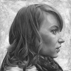 K Profile. by caldwellart