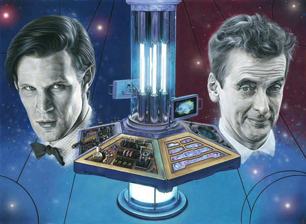 Doctor Who - Eleven and Twelve by caldwellart