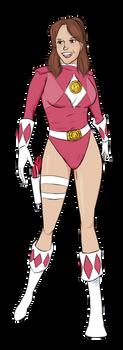 Sexy Pink Ranger (Leotardized!) by Neilsama
