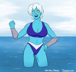 Invincibelle Bikini Commission by Neilsama