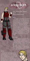 Civil War Ref: Gwen Vaandric by SpiderPope