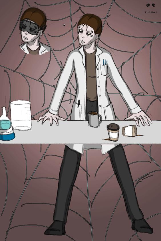 March Spider Art Challenge: Day 2 by SpiderPope