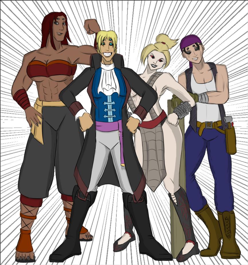 Terran Crew-La by SpiderPope