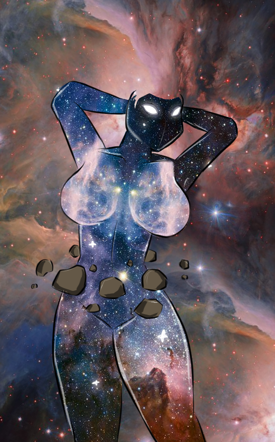 Galactic Tiddies by SpiderPope