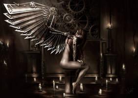 Steam Angel by Kaprriss