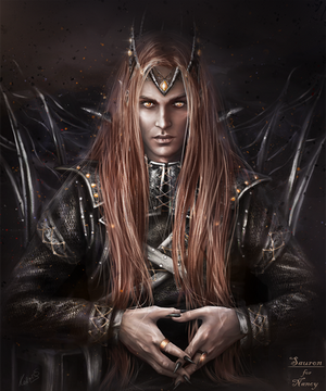 Sauron the Dark Lord by Kaprriss