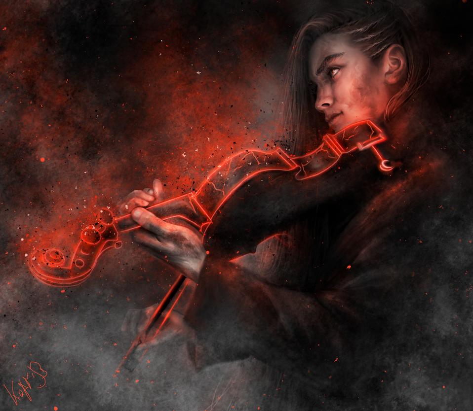 Violinist by Kaprriss