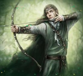 Forest Elf by Kaprriss