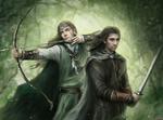 Elf and warrior